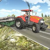 越野农业拖拉机货物破解版V1.1安卓版_越野农业拖拉机货物破解版全关卡解锁下载